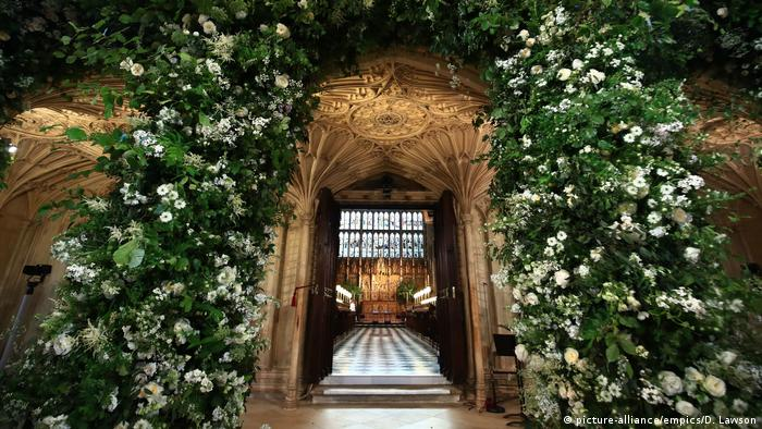 St. George's Chapel inside the Windsor Castle (picture-alliance/empics/D. Lawson)