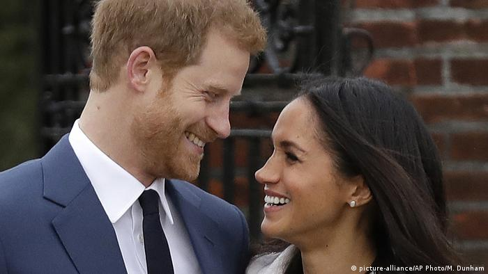Prince Harry and Meghan Markle (picture-alliance/AP Photo/M. Dunham)
