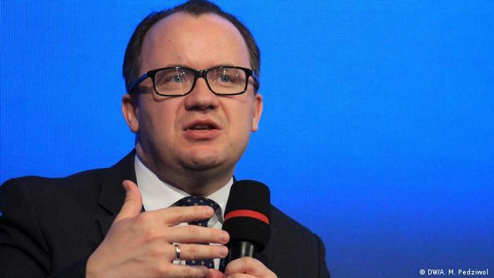 Polen Ombudsmann Adam Bodnar auf dem 4. Europäisches Kongress der Lokalregierungen in Krakau