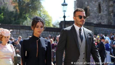 Victoria und David Beckham (picture-alliance/empics/G. Fuller)