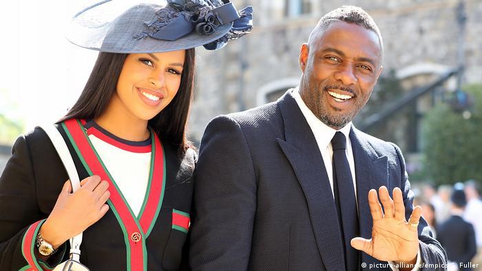 Bildergalerie Royal Hochzeit von Prinz Harry und Meghan Markle |Idris Elba (picture-alliance/empics/G. Fuller)