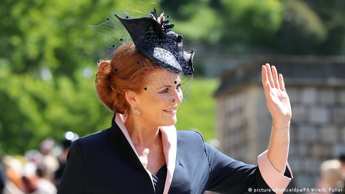 UK | Hochzeit Prinz Harry und Meghan Markle | Herzogin Sarah Ferguson (picture-alliance/dpa/PA Wire/G. Fuller)