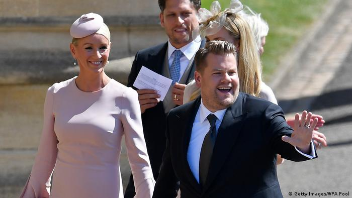 UK | Hochzeit Prinz Harry & Meghan Markle | James Corden (Getty Images/WPA Pool)