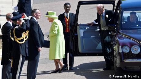 UK | Hochzeit Prinz Harry & Meghan Markle | Queen Elizabeth (Reuters/T. Melville)