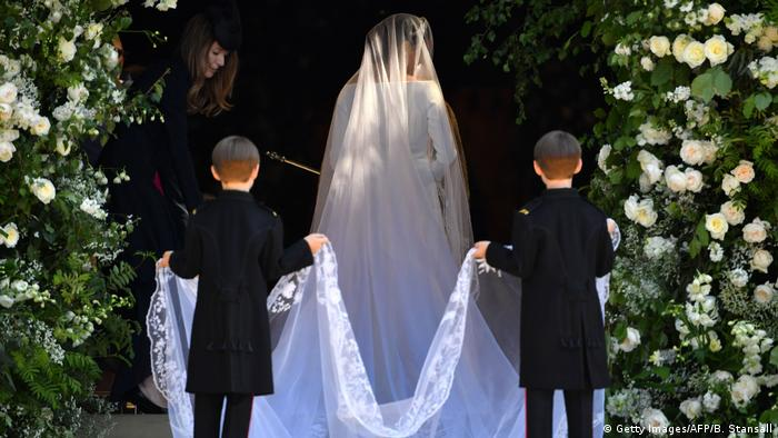 UK Hochzeit Prinz Harry & Meghan Markle (Getty Images/AFP/B. Stansall)