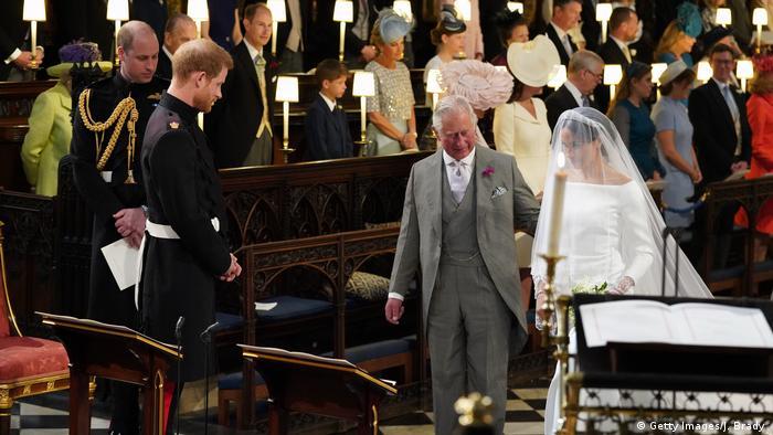 Prince Charles accompanies Meghan Markle to Prince Harry (Getty Images/J. Brady )