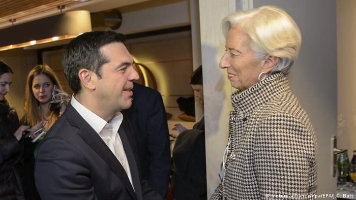 Griechenland | Alexis Tsipras und Christine Lagarde