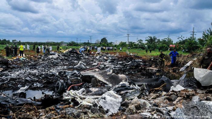 Kuba | Flugzeugabsturz (picture-alliance/dpa/XinHua/J. Hernandez)
