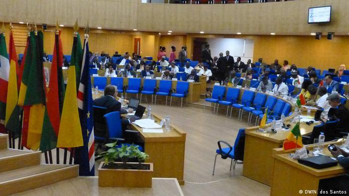 Parlamentarische Versammlung der Frankophonie von Afrika in Kap Verde
