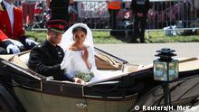 UK | Hochzeit Prinz Harry & Meghan Markle | Brautpaar in Kutsche