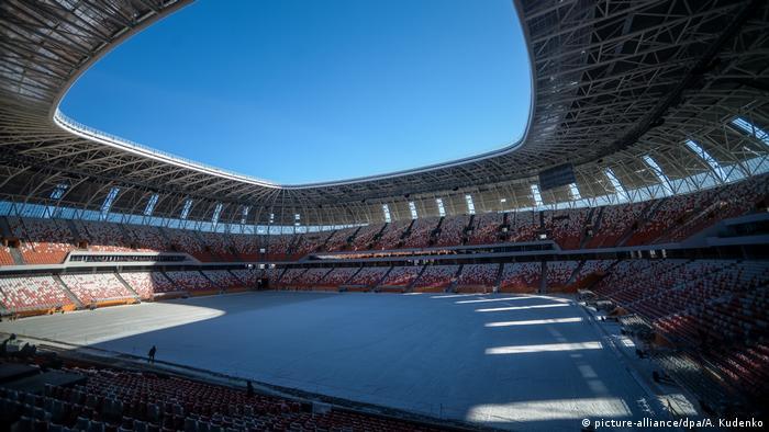 Russland Stadien Mordovia Arena (picture-alliance/dpa/A. Kudenko)