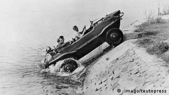 Volkswagen creó también vehículos de uso militar.