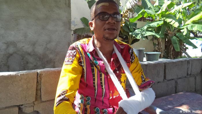 Mosambik Jonathan Suleimane Mitglied Partei RENAMO