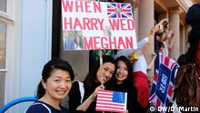 UK | Hochzeit Prinz Harry & Meghan Markle | Royal wedding crowds