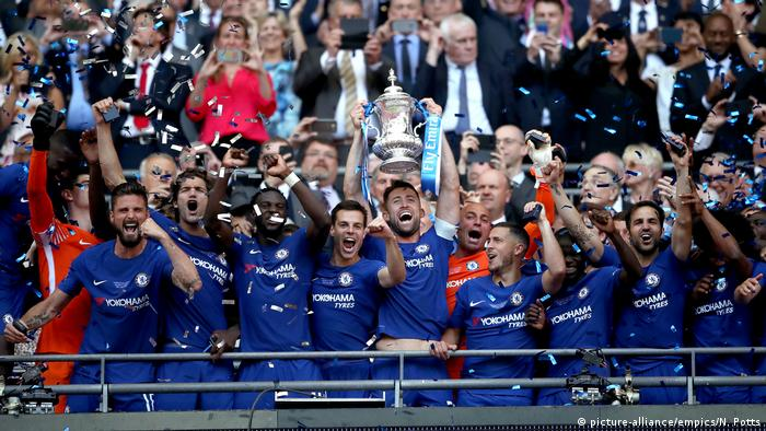 Fußball Pokal England Chelsea v Manchester United - Emirates FA Cup - Final - Wembley Stadium