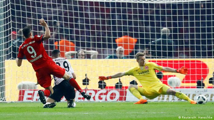 DFB-Pokal Finale 2017/2018 FC Bayern München - Eintracht Frankfurt Tor