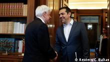 Griechenland Alexis Tsipras beim Präsidenten