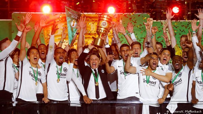 DFB-Pokal Finale 2017/2018 FC Bayern München - Eintracht Frankfurt: Jubel (Reuters/K. Pfaffenbach)