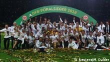DFB-Pokal Finale 2017/2018 FC Bayern München - Eintracht Frankfurt: Jubel
