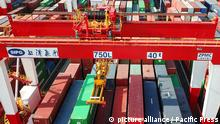 China: World's largest cargo port