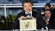 Frankreich Cannes - Hirokazu Kore-Eda gewinnt Palme d'Or für Shoplifters