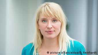 Η βουλευτής των Πρασίνων Λουίζε Άμτσμπεργκ