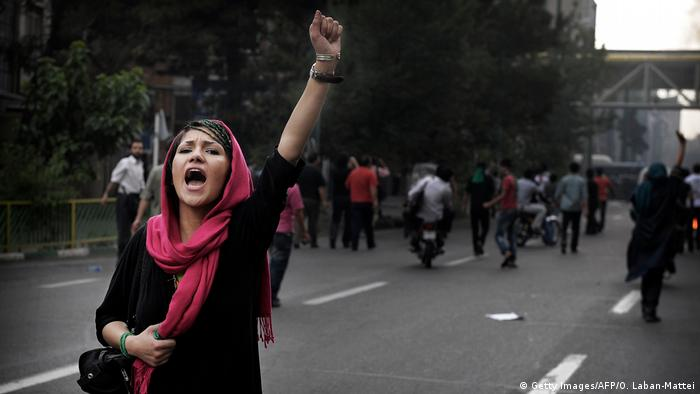 Iran Protest (Getty Images/AFP/O. Laban-Mattei)