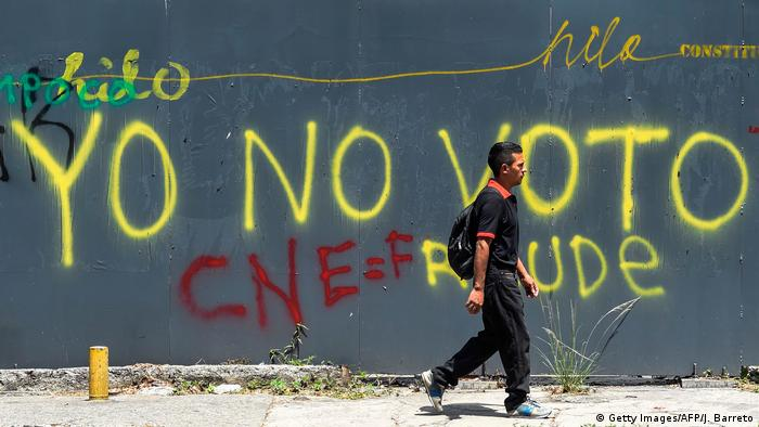Venezuela Wahlen (Getty Images/AFP/J. Barreto)