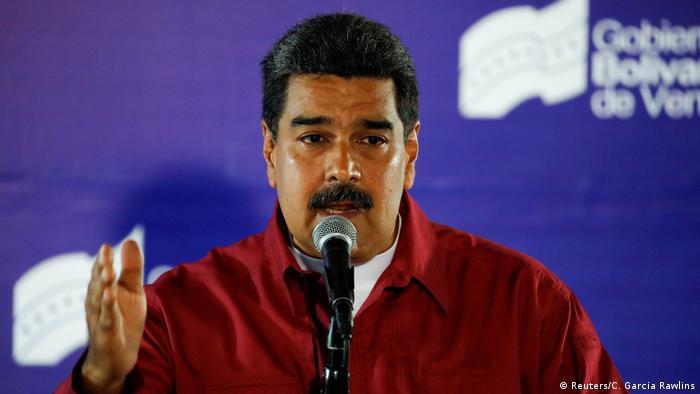 Venezuela Wahlen   PK Nicolas Maduro nach Stimmabgabe