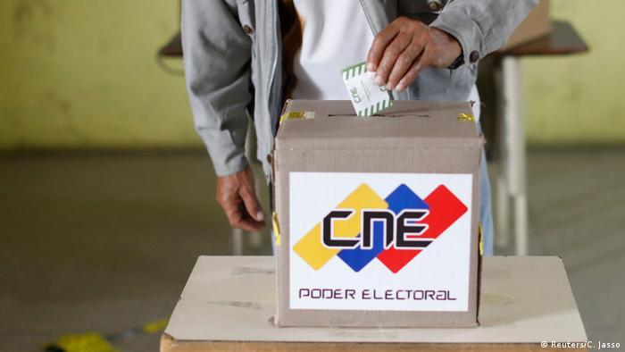 Venezuela voting box