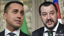 Kombobild Di Maio und Salvini