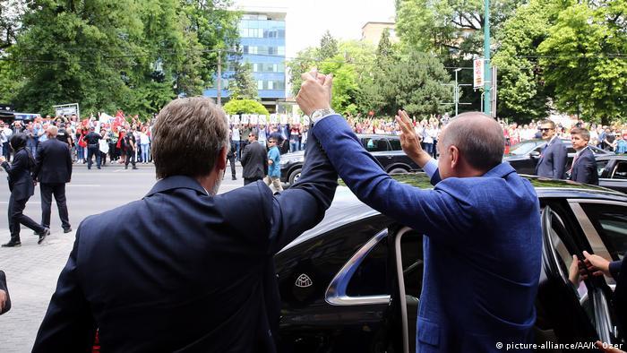 Besuch türkischer Präsident Tayyip Erdogan in Bosnien und Herzegowina