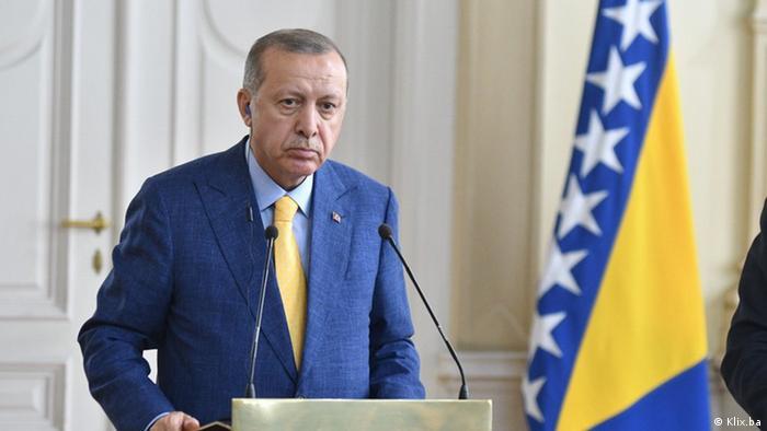 Besuch türkischer Präsident Tayyip Erdogan in Bosnien und Herzegowina NEU
