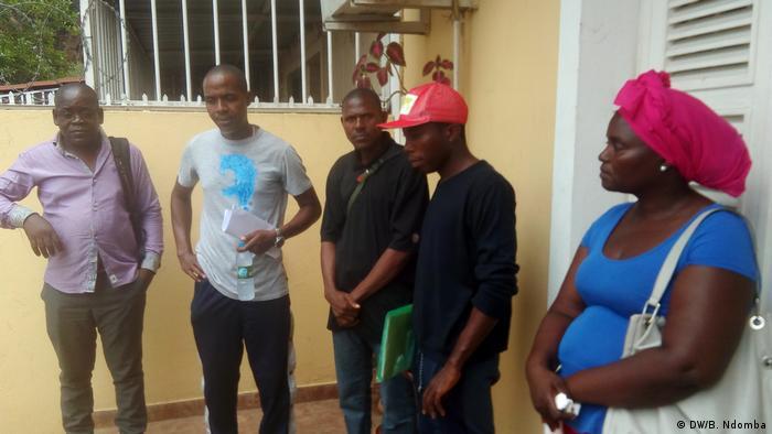 Angola Zwangsabriss von Wohnhäusern in Zona Verde
