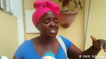 Angola Zwangsabriss von Wohnhäusern in Zona Verde Adlaia Jacinto