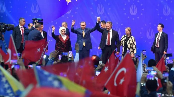 Erdogan in Bosnien und Herzegowina (Klix.ba)