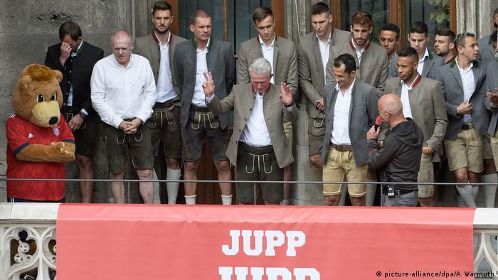Fußball Bundesliga FC Bayern München Jupp Heynckes (picture-alliance/dpa/A. Warmuth)