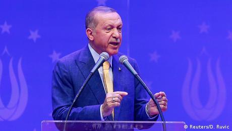 Ердоган просить турків у Європі підтримати його