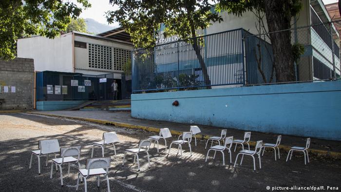 Präsidentschaftswahl in Venezuela (picture-alliance/dpa/R. Pena)
