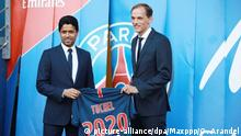 Paris St. German Vorstellung Trainer Tuchel (picture-alliance/dpa/Maxppp/O. Arandel)