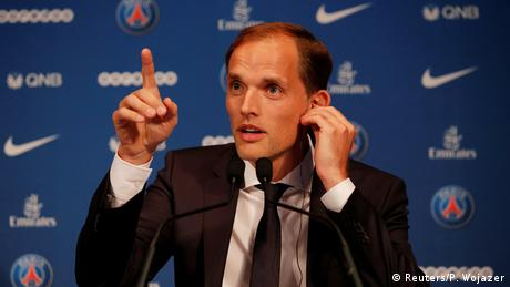 Paris St. German Vorstellung Trainer Tuchel (Reuters/P. Wojazer)
