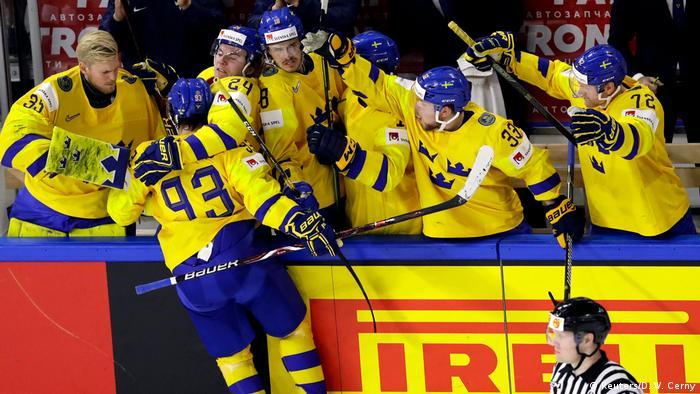 Dänemark Eishockey-WM in Kopenhagen - Schweden vs. Schweiz