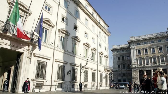 Italien Palazzo Chigi in Rom
