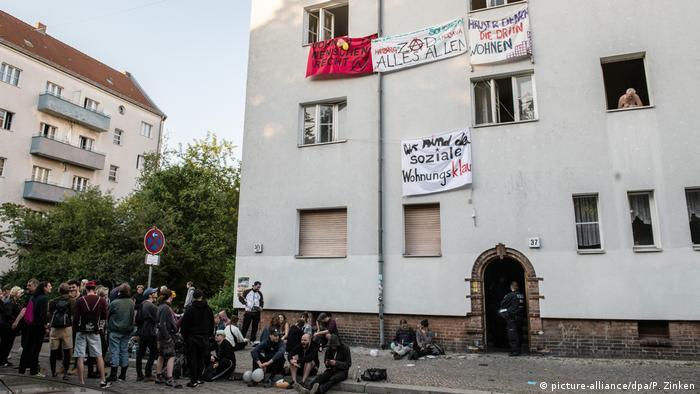 Deutschland Hausbesetzungen in Berlin