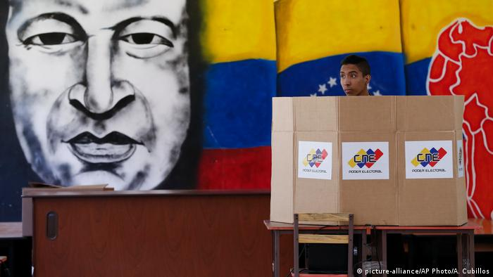 Venezuela Wahlen (picture-alliance/AP Photo/A. Cubillos)
