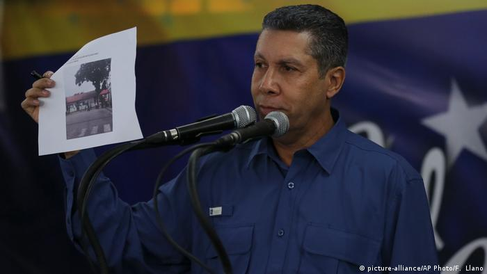Venezuela Wahlen - Henri Falcon (picture-alliance/AP Photo/F. Llano)