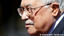 Palästinenser Präsident Mahmoud Abbas