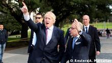 G20 Außenministertreffen in Argentinien | Außenminister Faurie und Britisher Außenminister Johnson