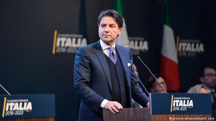 Giuseppe Conte (picture-alliance/dpa/S. Lore)