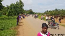 ADF attack in Eastern Congo